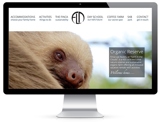 Responsive Website Design Widescreen Display State